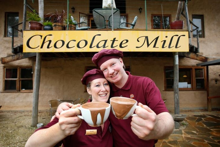 Chocolate Mill's Nicki and Adrian