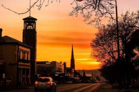 Ballarat at sunset